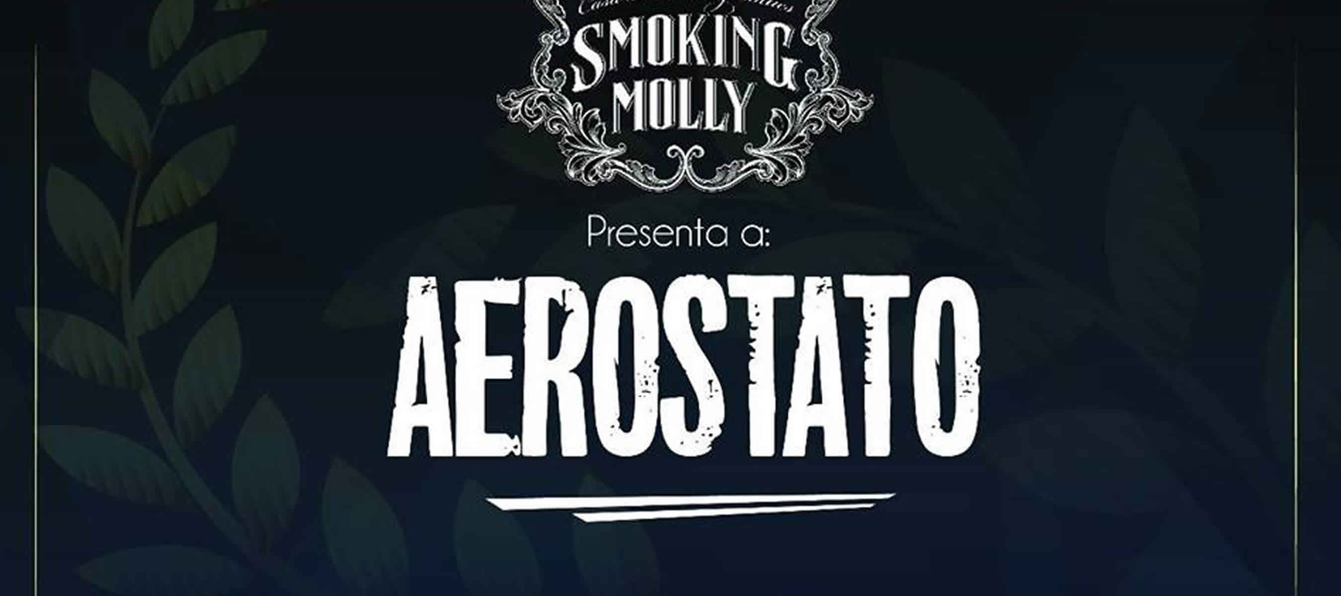 Aerostato en smoking molly
