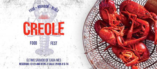 Creole food fest en smoking molly