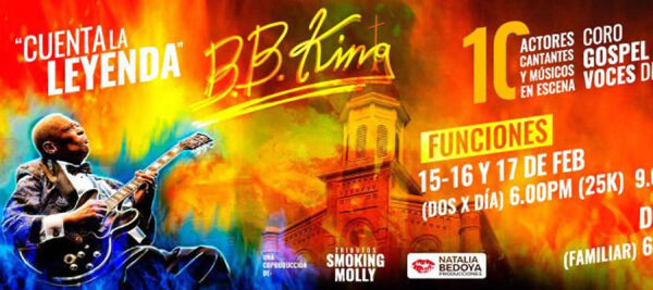 BB King en Smoking Molly