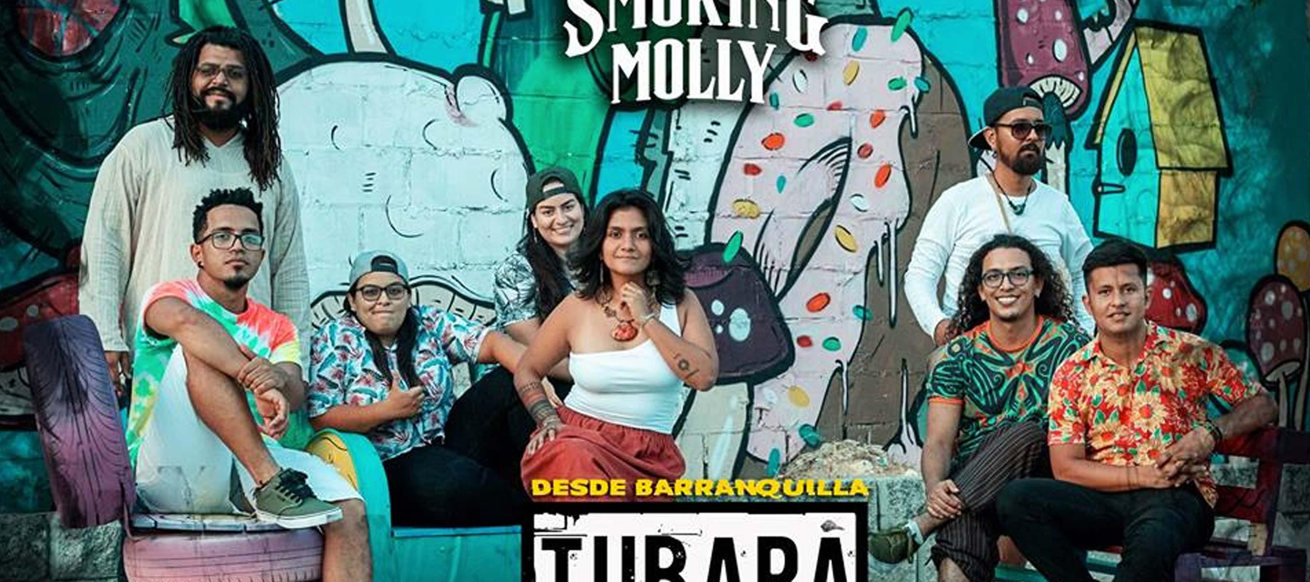 Turbará Reggae Barranquilla - Smoking Molly