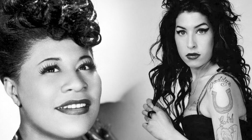 Ella Fitzgerald Meets Amy Winehouse